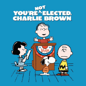 "1972's ""You're Not Elected, Charlie Brown"""