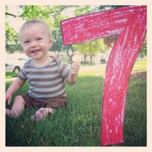 7 Months - July