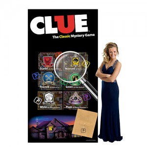 Clue Standee