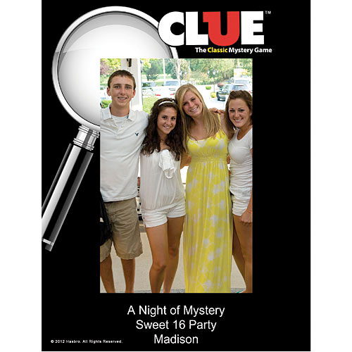 Clue Photo Frame
