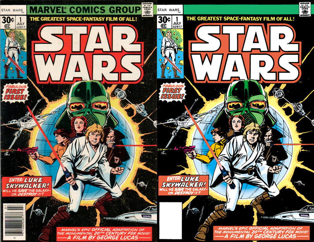 Issue #1: Marvel Original vs. Dark Horse Reprint