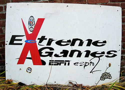 Original 1995 Extreme Games Logo