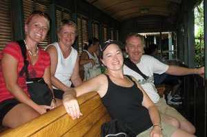 Sitting Sideways on the Animal Kingdom Train (2007)