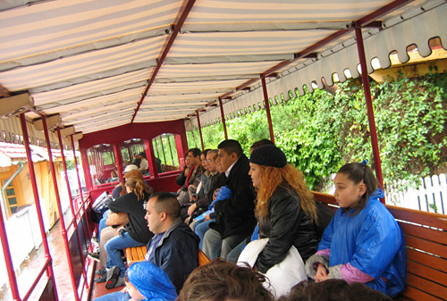 Disneyland Railroad Seating Configuration (2005)