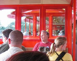 Walt Disney World Railroad Seating Configuration (2009)