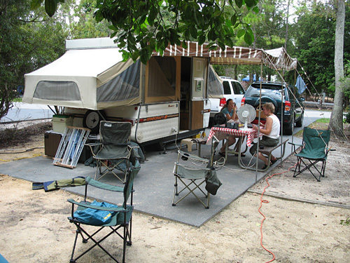 Camping at Walt Disney World (2007)