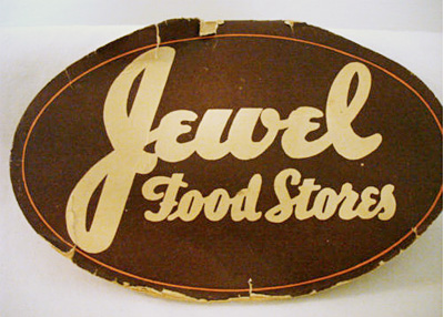 "Vintage ""Jewel Food Stores"" logo"