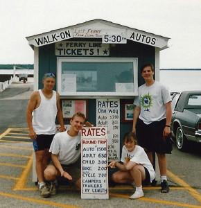 Steve & Amy on a Door County Bike Trip (1993)