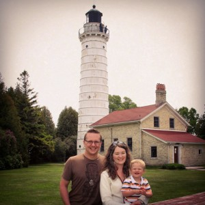 Overcast visit to Cana Island Lighthouse