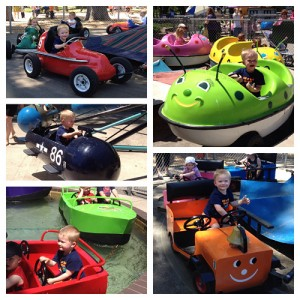 Wesley had a blast at Green Bay's Bay Beach Amusement Park. Just 25 cents per ride!